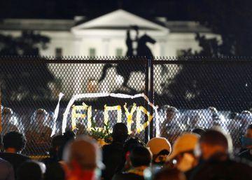 La octava jornada de protestas en Estados Unidos por la muerte de George Floyd, en imágenes