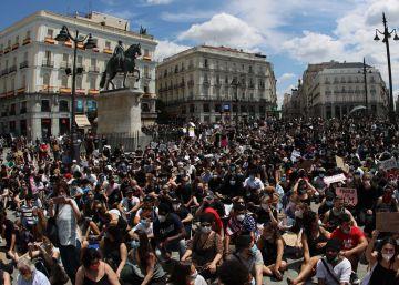 Las manifestaciones por la muerte de George Floyd alrededor del mundo, en imágenes