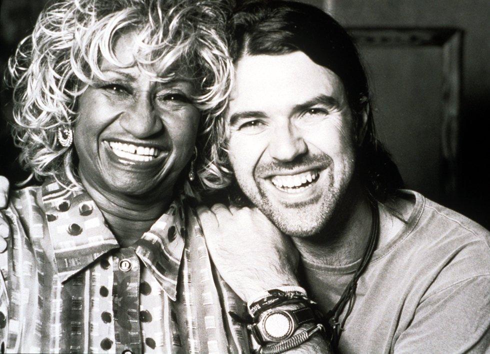 Celia Cruz con Pau Donés, en una imagen sin fechar.