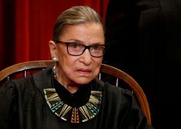 La vida de Ruth Bader Ginsburg, en imágenes