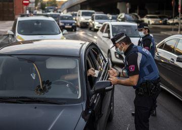 Las nuevas restricciones de movilidad en la Comunidad de Madrid, en imágenes