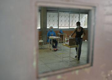 Las elecciones parlamentarias en Venezuela, en imágenes