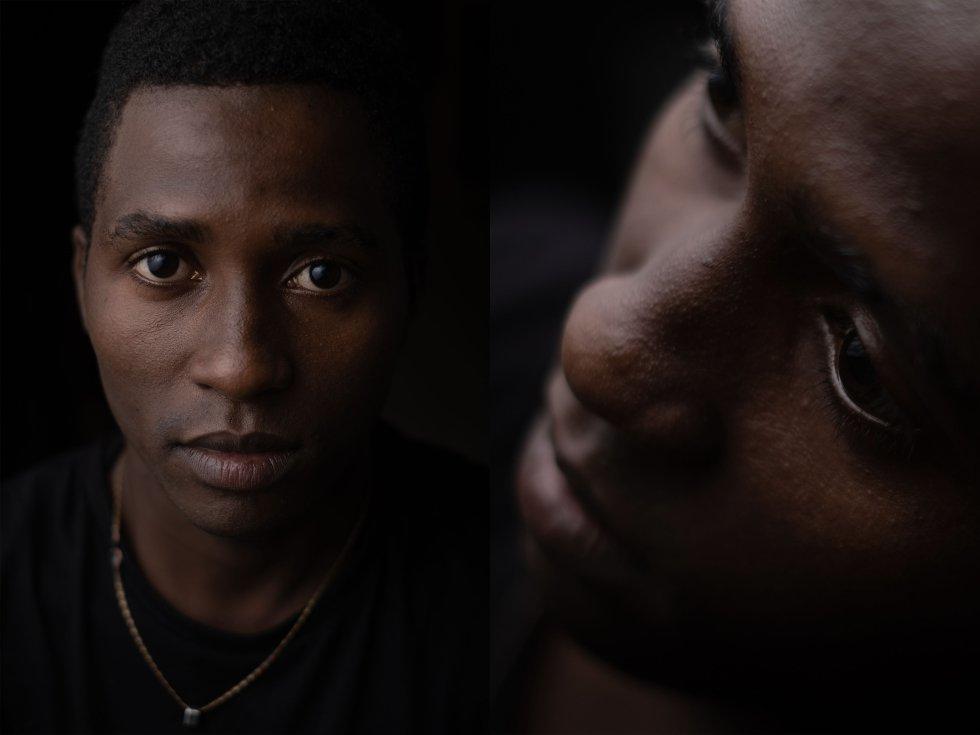 Ibrahim Ly. Inmigrante subsahariano llegado a las costas canarias en octubre de 2019. Tras más de un año en Tenerife, se ha topado con la informática y ha encontrado su vocación.