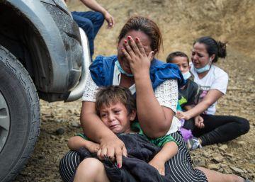 Caravana de Honduras avanza rumbo a Estados Unidos