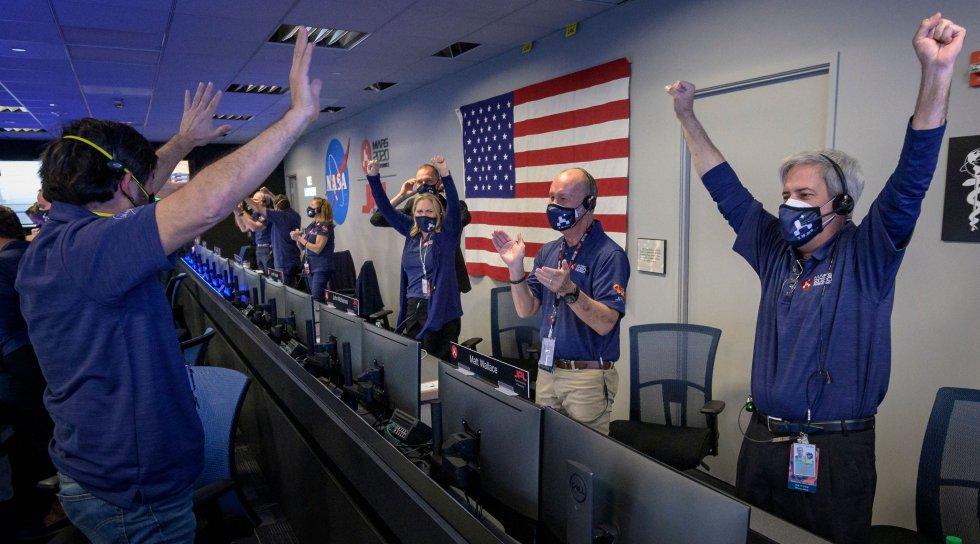 Fotos: La llegada de 'Perseverance' a Marte, en imágenes | Ciencia | EL PAÍS