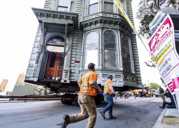 La ?mudanza? de una casa de estilo victoriana en San Francisco