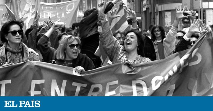 Un recorrido fotográfico por la historia del 8-M en España