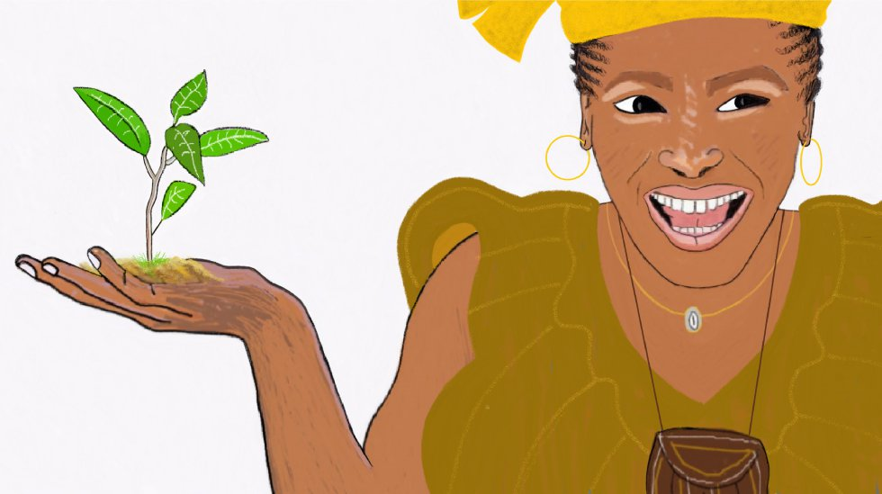 Acudí a casa de Fatou, la mujer más sabia de la aldea, quien me contó que los árboles, como las personas, necesitan abrazos, a ser posible, grandes y largos.