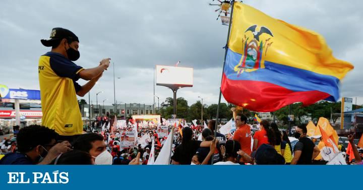 Ecuador se prepara para la segunda vuelta de las elecciones, en imágenes