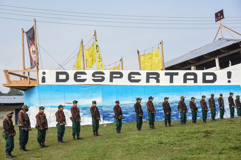 El grupo zapatista ha partido este lunes desde las montañas del Estado de Chiapas hacia Quintana Roo. La comitiva prevé llegar a las costas de Galicia, en España, a mediados de junio.