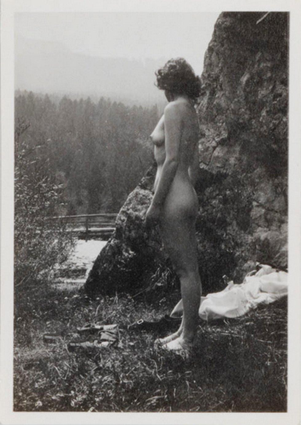 Vivien Leigh desnuda durante su luna de miel en 1940.