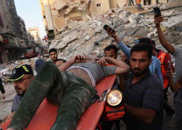 Gaza tras el bombardeo de Israel de este domingo, en imágenes