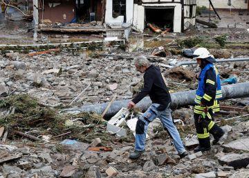 Las inundaciones en Alemania, en imágenes
