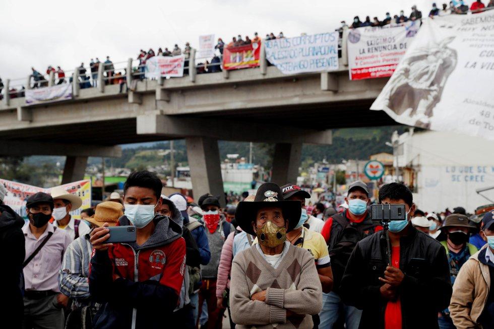 La Ciudad de Guatemala y Totonicapán reunieron la mayor cantidad de manifestantes este jueves.