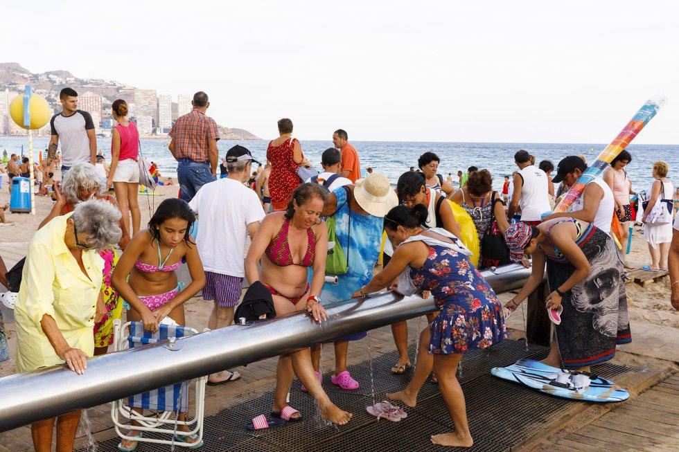 Considera las playas comornun escenario único. Estarnimagen es de 2018.