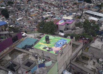 El arte mural viste el paisaje en Iztapalapa