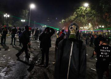 El segundo aniversario del estallido social en Chile, en imágenes