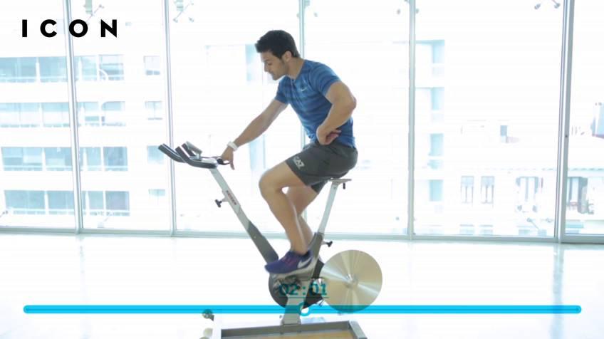 Bajar de peso con bicicleta spinning