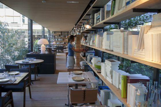 Pappardelle y espect culo el viajero el pa s for Restaurante escuela de arquitectos madrid