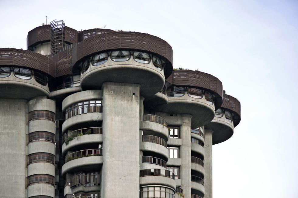 Fotos madrid en 20 edificios del siglo xx el viajero for Edificio puerta real madrid