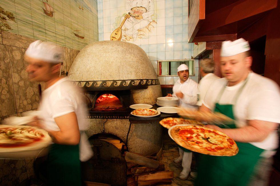 Ocho ciudades para 'pizzaadictos'