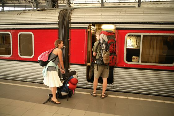 Mantenga a los adolescentes ocupados viajando