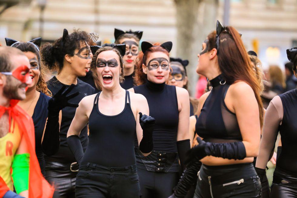 Diez escenas de Carnaval en España