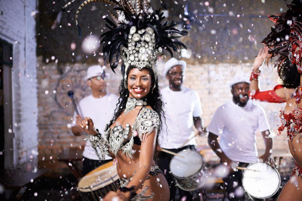 Diosas y dioses en el carnaval de Río de Janeiro