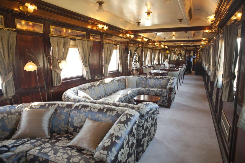 Fotos tren al ndalus precio c mo son los trenes de lujo for Muebles lujo madrid