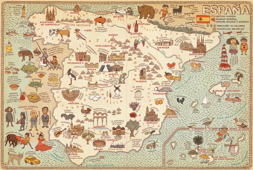 Un atlas mundial sorprendente