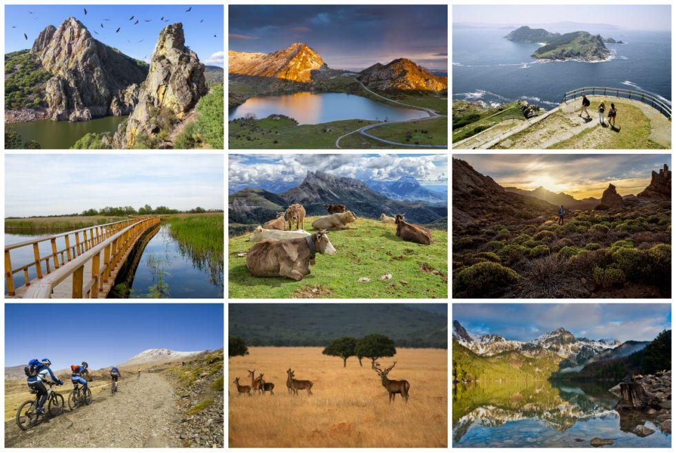La belleza de los 15 parques nacionales de España