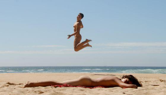 Rencontre a la plage avec ma livecam pour les voyeurs france - 1 part 5