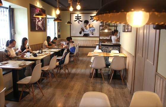 Los ocho mejores restaurantes chinos de madrid el for Cocinas de lujo madrid