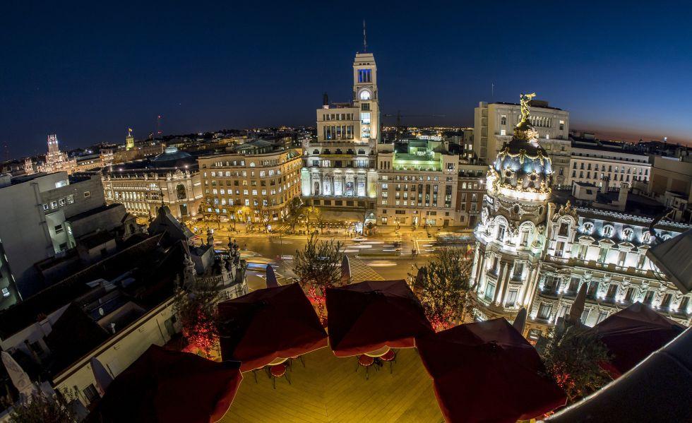 Fotos las 25 mejores terrazas de madrid el viajero el for Terrazas nocturnas madrid