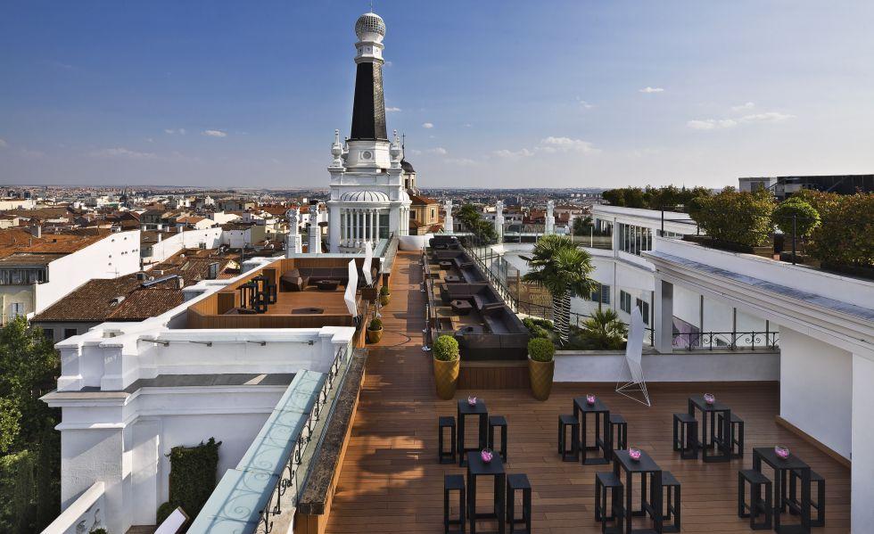 Fotos las 25 mejores terrazas de madrid el viajero el for Casa de granada terraza madrid