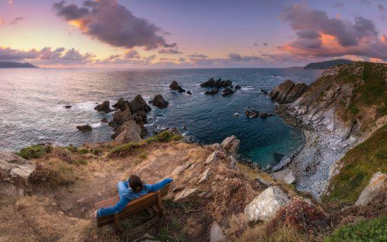 Los seis mejores bancos para sentarse y contemplar el mar - Fotos de bancos para sentarse ...