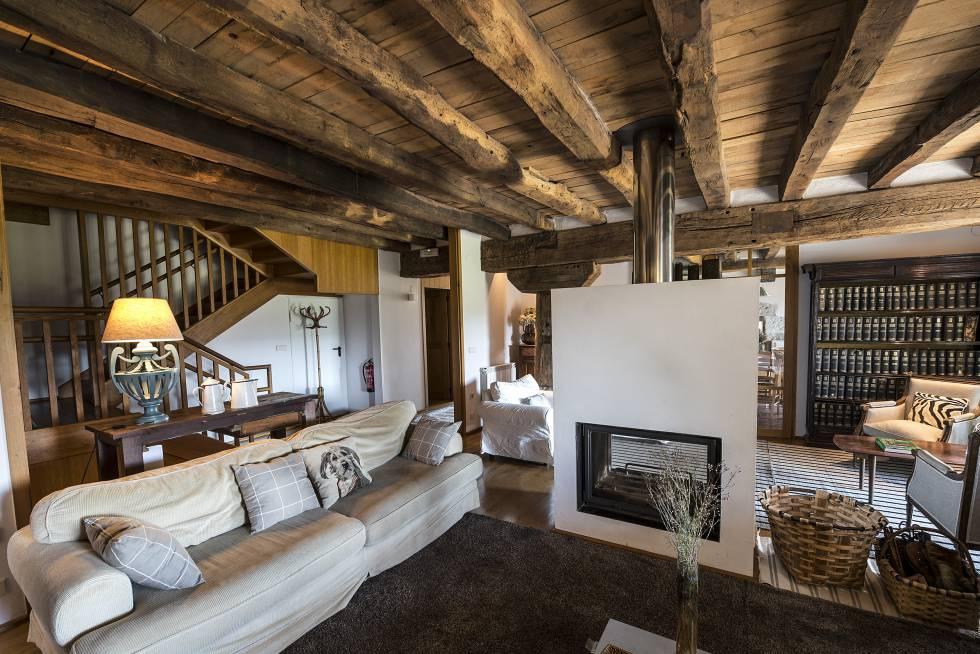 Fotos 10 casas rurales para disfrutar de una buena chimenea el viajero el pa s - Casas rurales con chimenea para dos personas ...