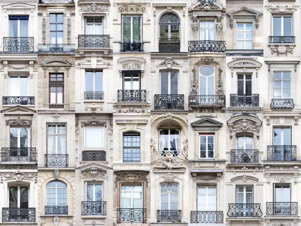 """Há quase 10 anos, quando André Vicente Gonçalves fazia um intercâmbio em Trento (Itália), começou a fotografar as janelas dos edifícios. """"Fascinou-me sua arquitetura, tão diferente, e comecei a documentá-la"""", conta. Desde então, quando o fotógrafo português visita um novo local, sua câmera aponta para elas. Umas 40 cidades de 11 países diferentes formam já parte de seu projeto Windows of the World (Janelas do mundo), com o que quer demonstrar que as janelas são algo mais que os olhos de uma casa. Para ele, também são parte da história de uma cidade. Na imagem, o estilo clássico das janelas e varandas da capital francesa."""
