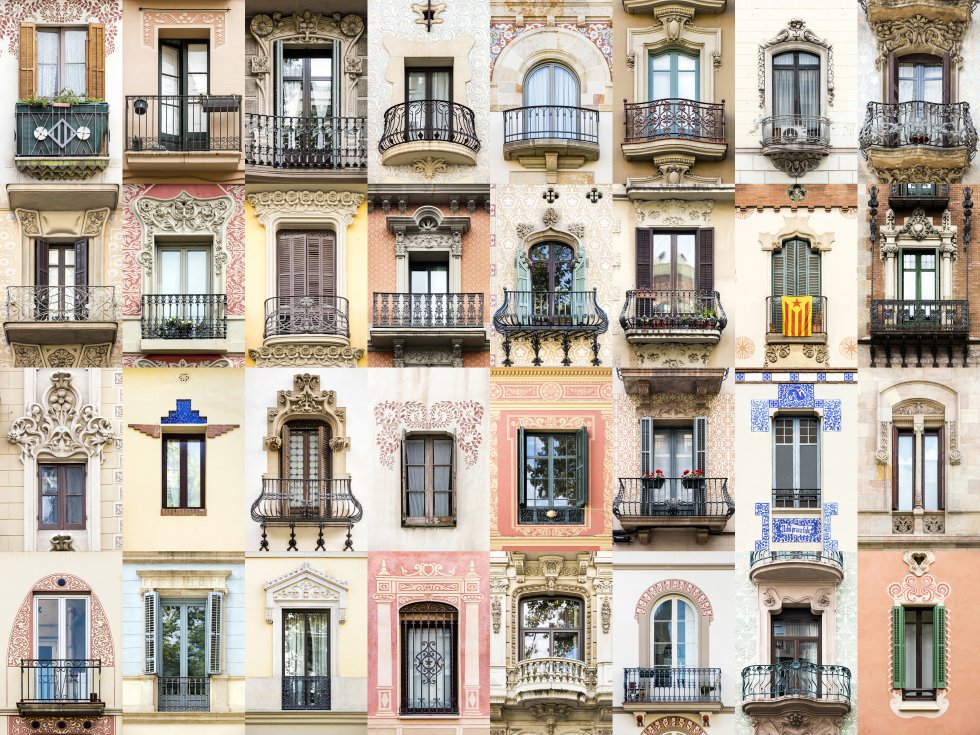 """""""As janelas servem como uma ponte entre a natureza e o interior de um edifício. Como criam essa ponte define a personalidade de seu arquiteto"""", analisa. Quiçá por isso Barcelona (na imagem) é uma de suas cidades favoritas, onde a estética das janelas da Casa Batlló, a Pedrera ou a Sagrada Família é um reflexo do estilo e as inquietudes de seu arquiteto, Antonio Gaudí."""