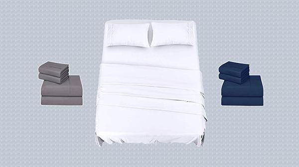 De microfibra y en tres colores: el juego de sábanas más valorado en Amazon