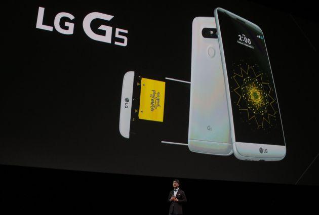 MWC 2016: LG G5: batería extraíble, doble cámara trasera y