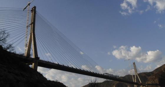 México Construye El Puente Atirantado Más Alto Del Mundo