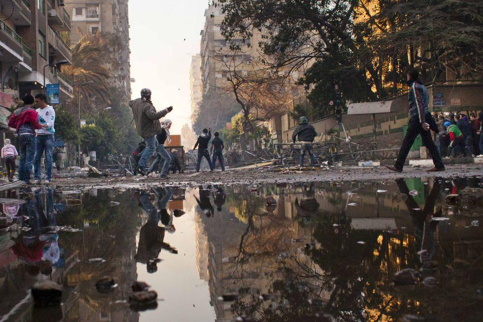 Fotos disturbios en el cairo internacional el pa s for Google ministerio del interior