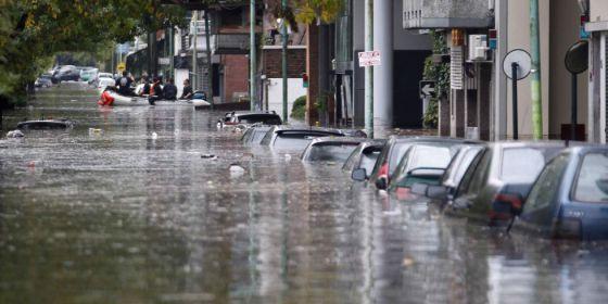 Fotos de las inundaciones en la plata 85