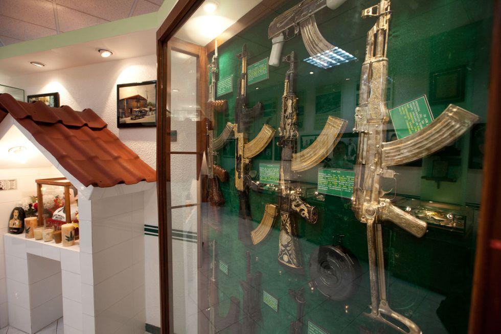 fotos  los tesoros del museo del narco en m u00e9xico