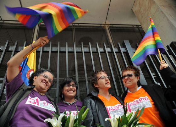 Colombia rechaza matrimonio homosexual