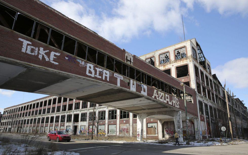 Prédio Abandonado Detroit