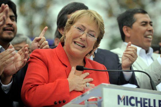 Bachelet não consegue vencer no primeiro turno nas eleições no Chile ... 145153051b8ae