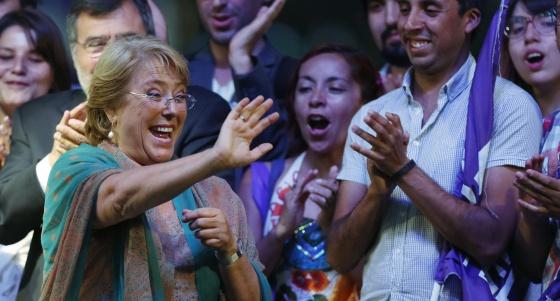 Electa Una Amplia Presidenta Michelle De Chile Tras Bachelet YZ8xUqE4