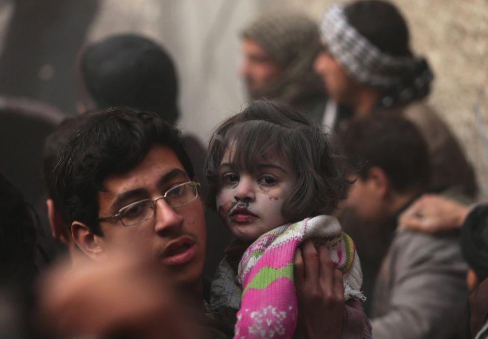 Nuevo bombardeo sobre civiles en Siria